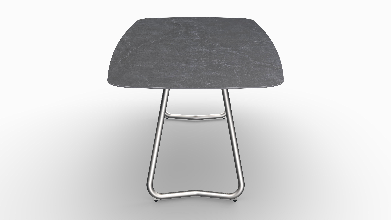 Gartentisch JURA (Tischgestell Edelstahl) 08