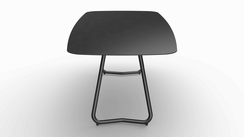 Gartentisch JURA (Tischgestell Stahl eisengrau, Tischplatte Sirius) 08