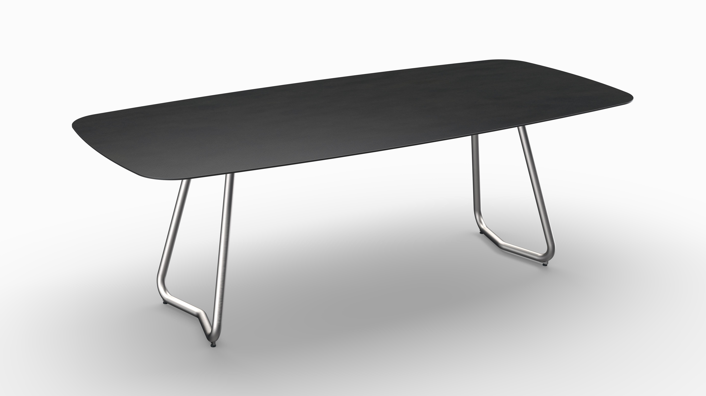 Gartentisch JURA (Tischgestell Edelstahl, Tischplatte Sirius) 06
