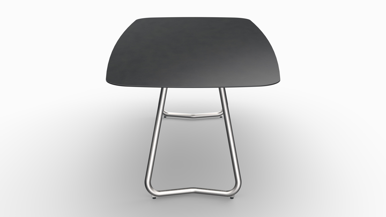 Gartentisch JURA (Tischgestell Edelstahl, Tischplatte Sirius) 08