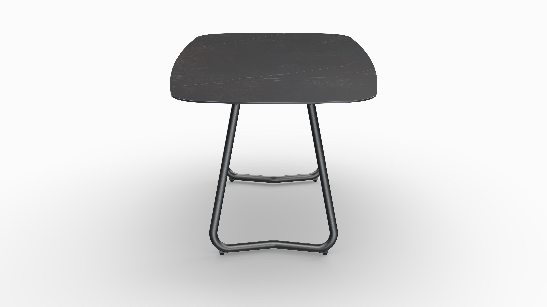 Gartentisch JURA (Tischgestell Stahl eisengrau, Tischplatte Kelya) 03