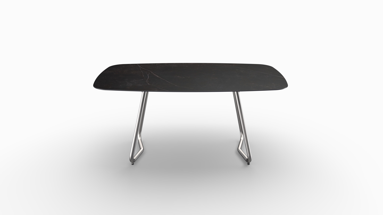 Gartentisch JURA (Tischgestell Edelstahl, Tischplatte Kelya) 02