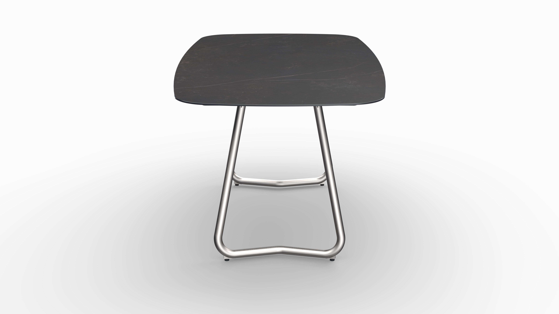 Gartentisch JURA (Tischgestell Edelstahl, Tischplatte Kelya) 03