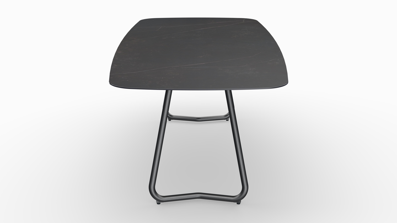 Gartentisch JURA (Tischgestell Stahl eisengrau, Tischplatte Kelya) 08