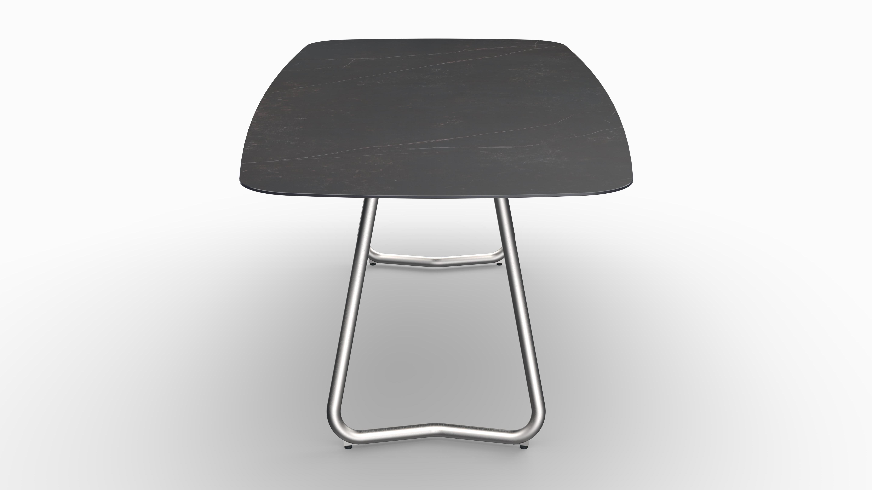 Gartentisch JURA (Tischgestell Edelstahl, Tischplatte Kelya) 08