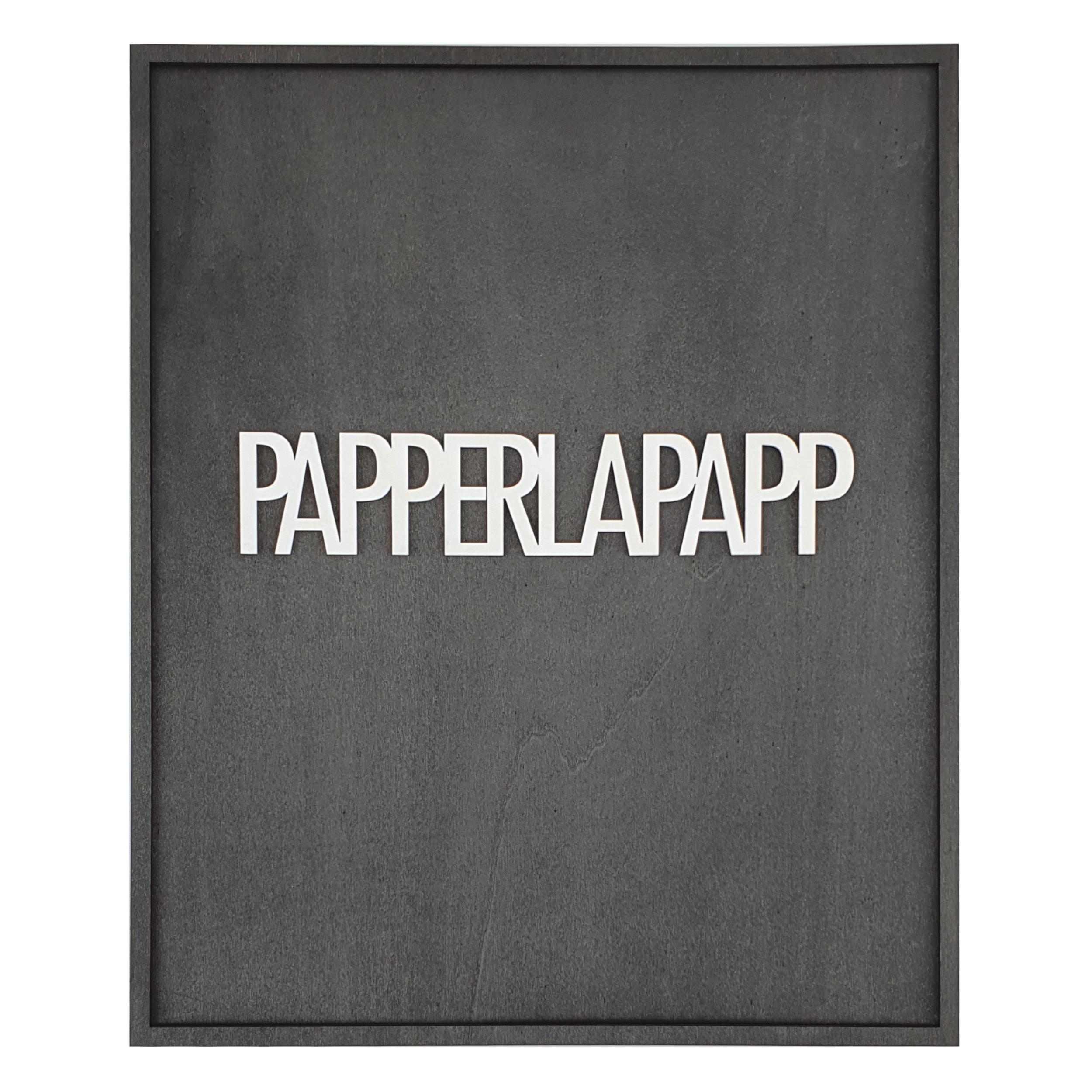 PAPPERLAPAPP (BLACK SERIES) 01