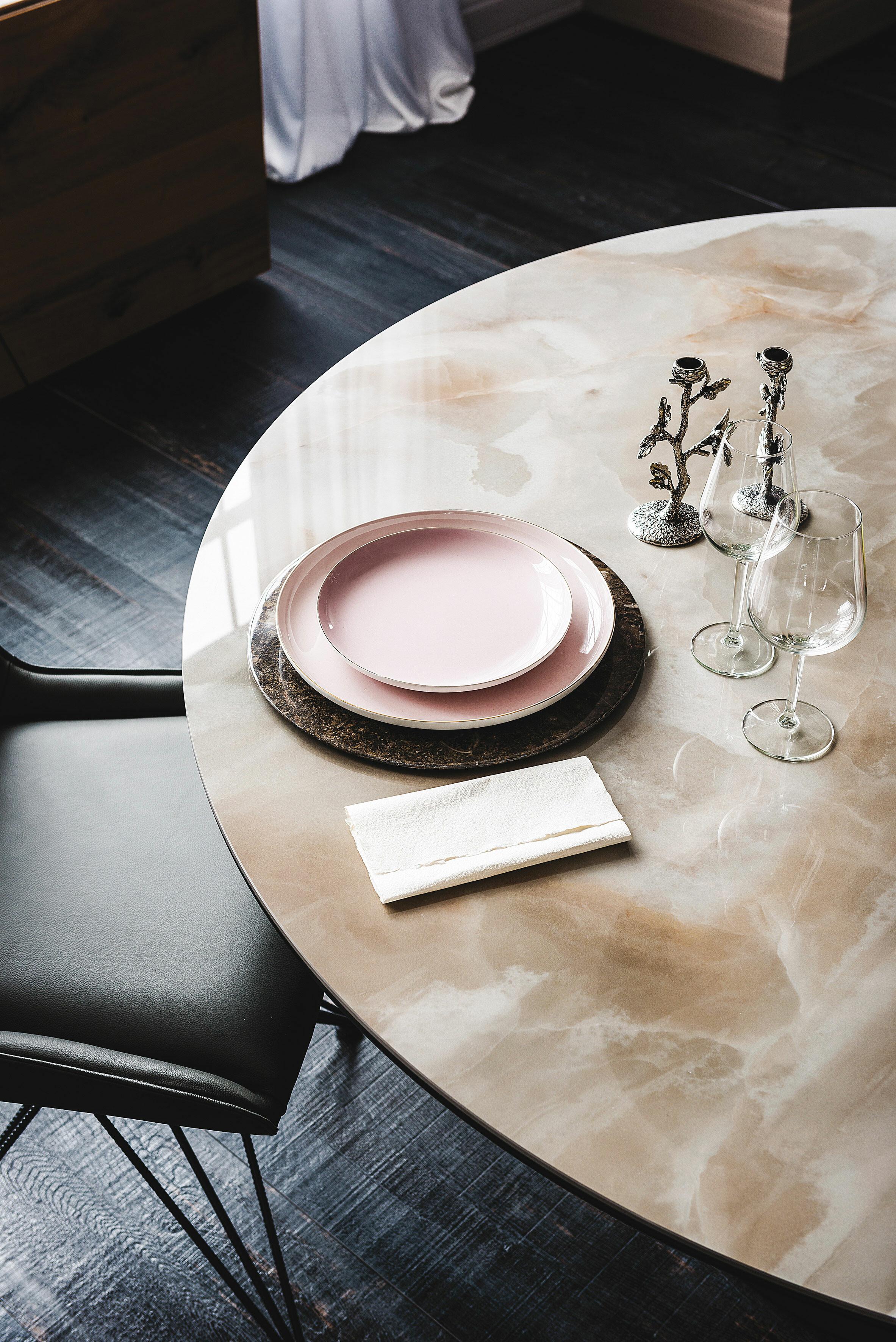 Esstisch Cattelan Giano Keramik - Rund 03