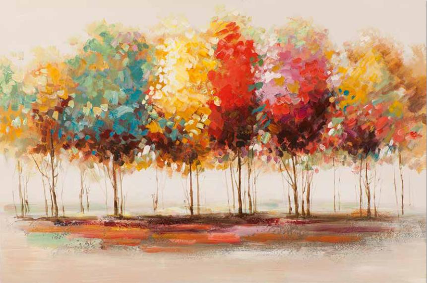 Bild bunte Bäume 02