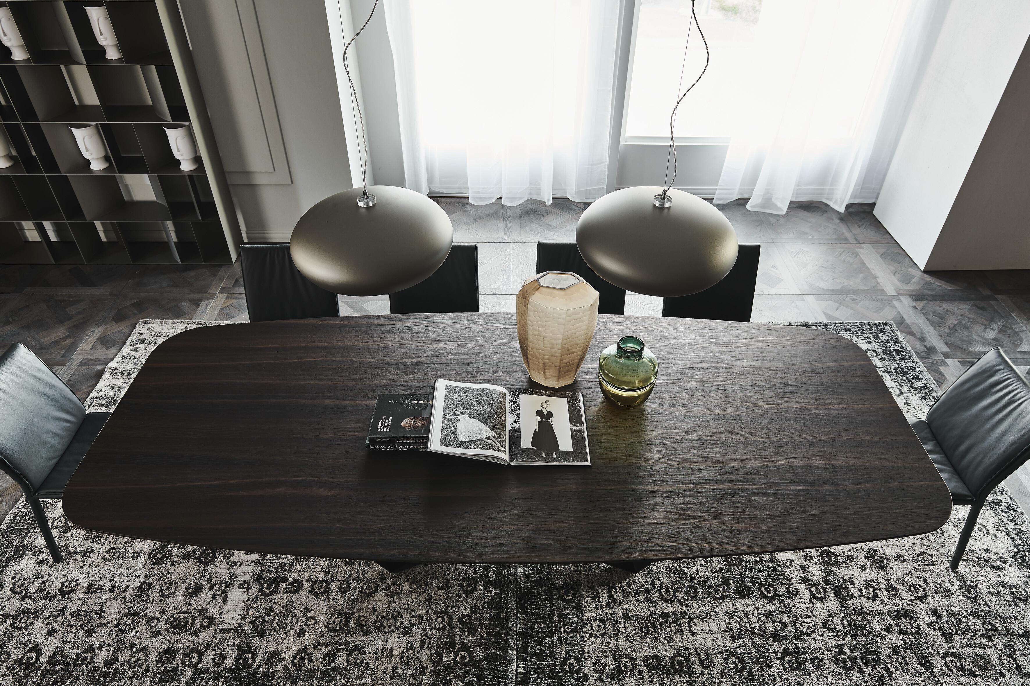 """Esstisch Cattelan Skorpio Wood """"B"""" - Bootsform 04"""