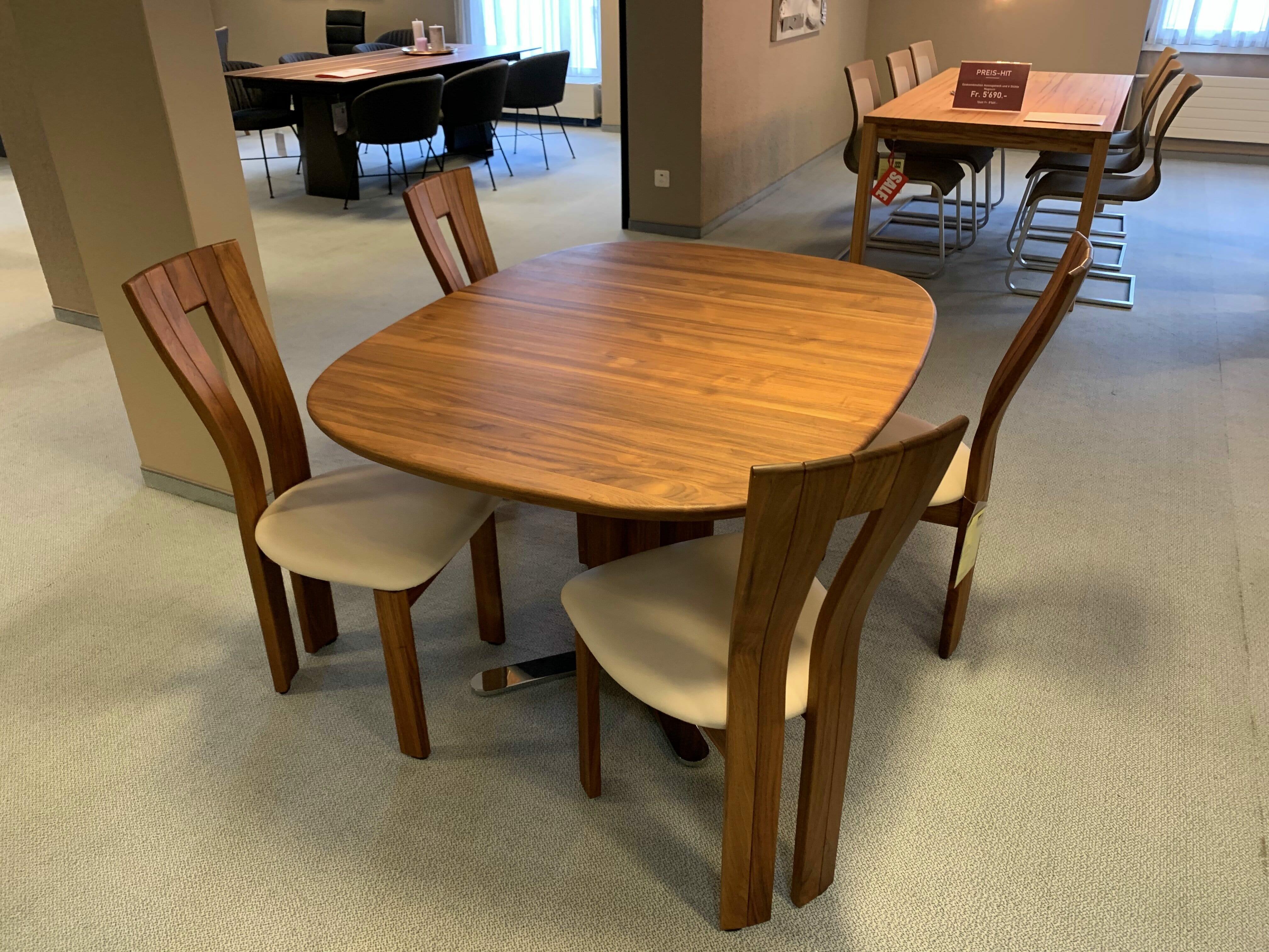 Esskombination Tisch und Stuhl Willisau 04