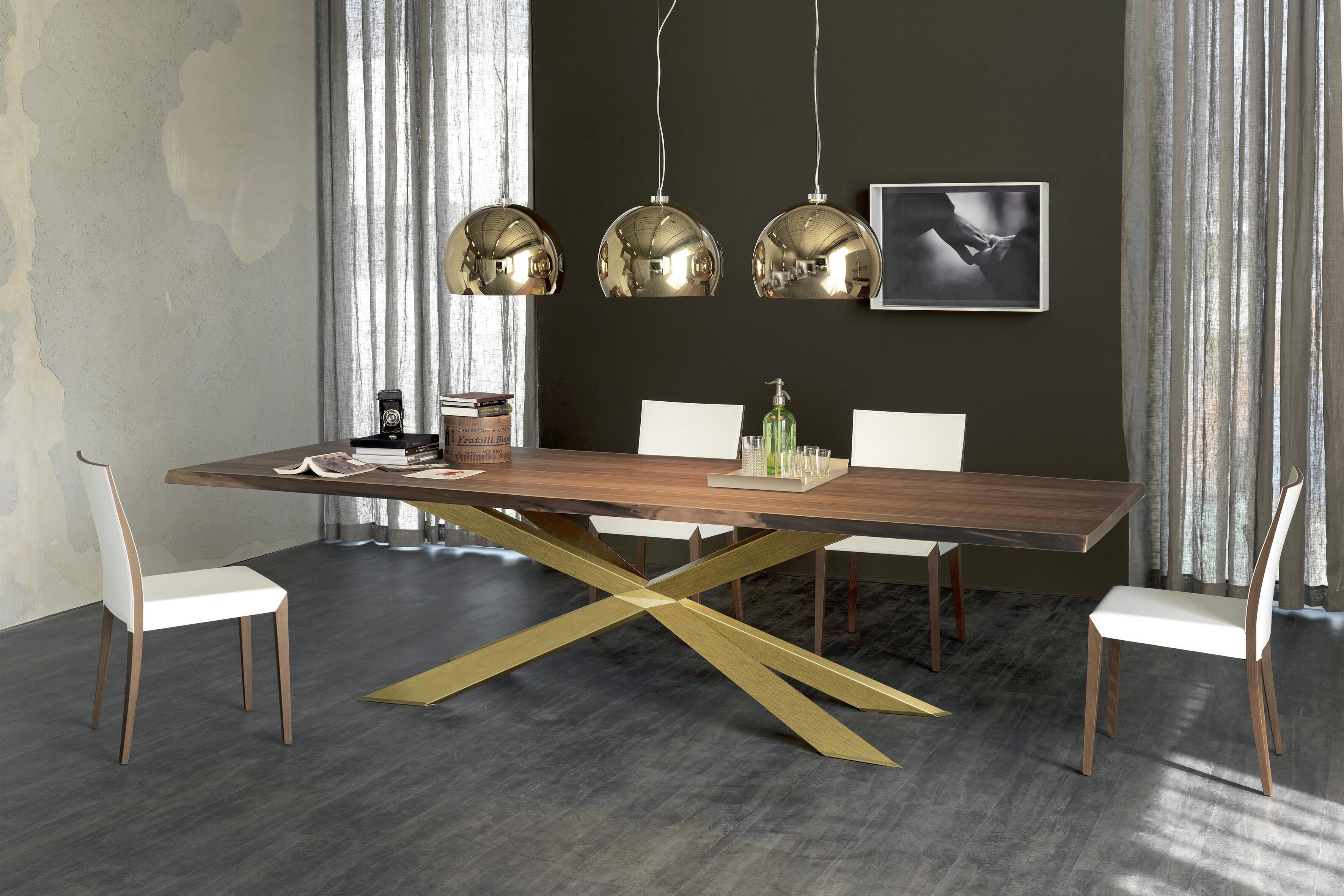 Esstisch Cattelan Spyder Wood 04
