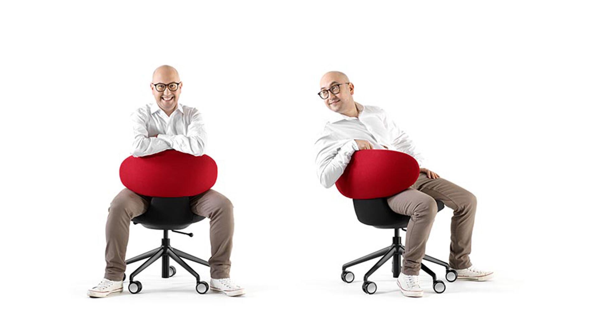 Bürostuhl/Chaise de bureau Simplex 3D 01