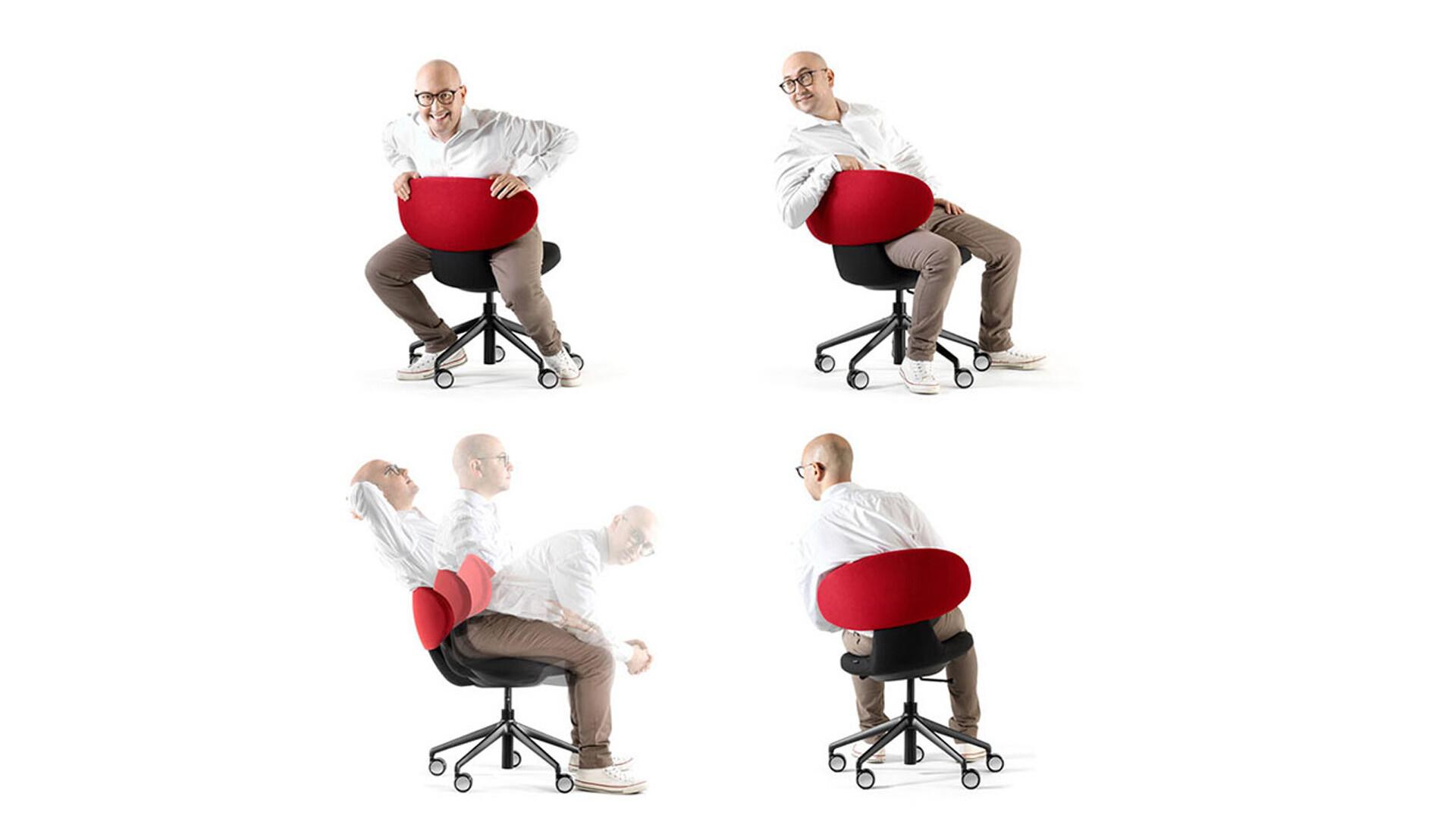 Bürostuhl/Chaise de bureau Simplex 3D 03