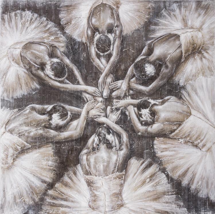 Wandbild Tänzerinnen 02