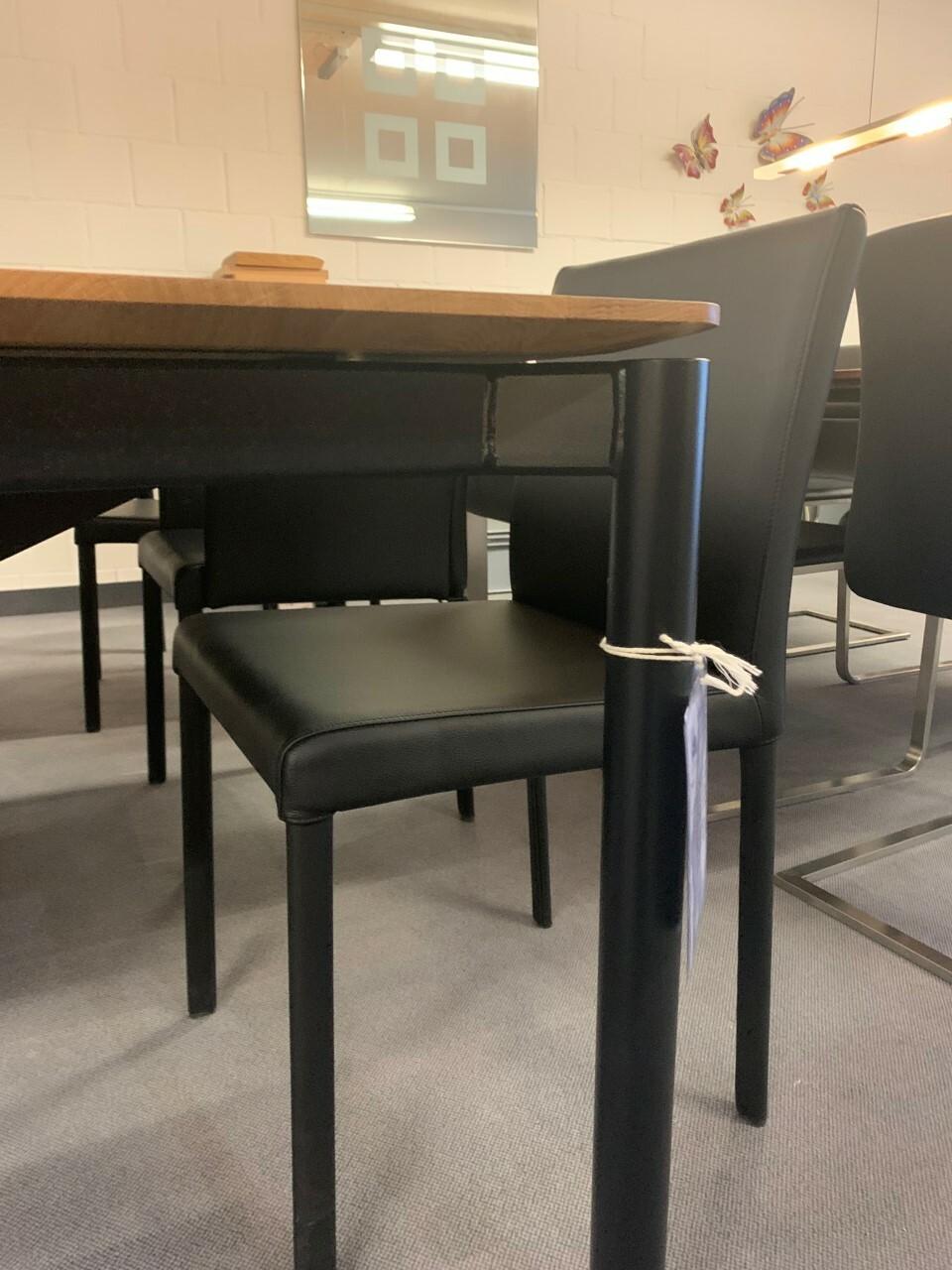Tisch massiv Modell Anton in Wildeiche 100 x 180 cm mit Auszug 70 cm 02
