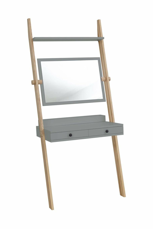 Solovivo Exclusiv! Leno Leiterregal Schreibtisch mit Schiefertafel 08