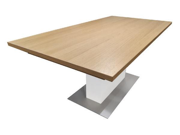 Esstisch FINALE Eiche sand mit Verlängerung 95 x 180 cm 01