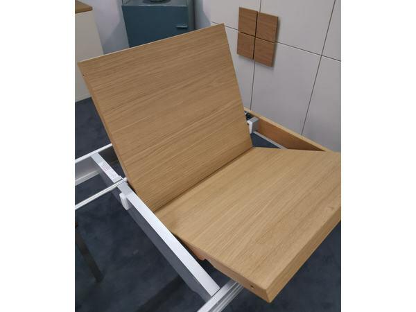 Esstisch FINALE Eiche sand mit Verlängerung 95 x 180 cm 03