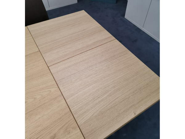 Esstisch FINALE Eiche sand mit Verlängerung 95 x 180 cm 04