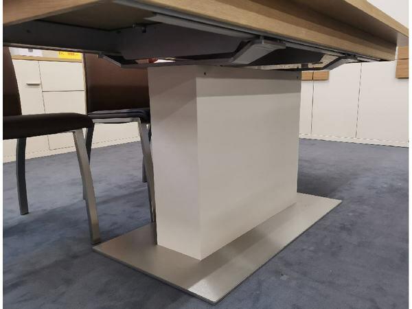 Esstisch FINALE Eiche sand mit Verlängerung 95 x 180 cm 05