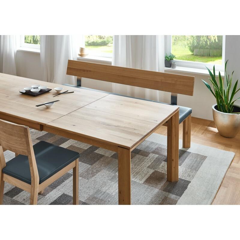 DION - Massivholztisch mit Gestellauszug 05