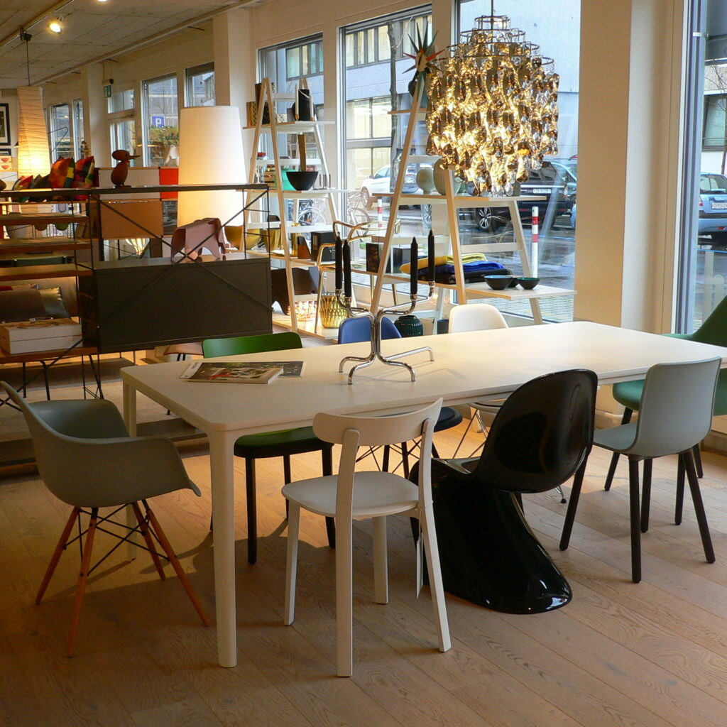 Vitra Tisch Dining Table weiss 220 x 100 cm 01