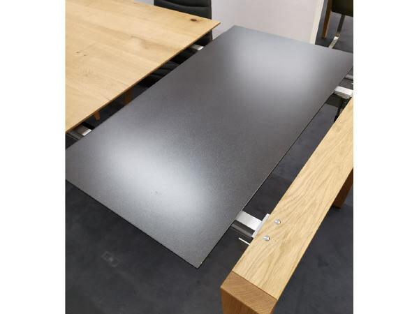 Esstisch AURA Asteiche 90 x 200 cm mit Verlängerung 02