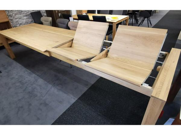 Esstisch LYSS mit Verlängerung Asteiche 220 x 100 cm 04