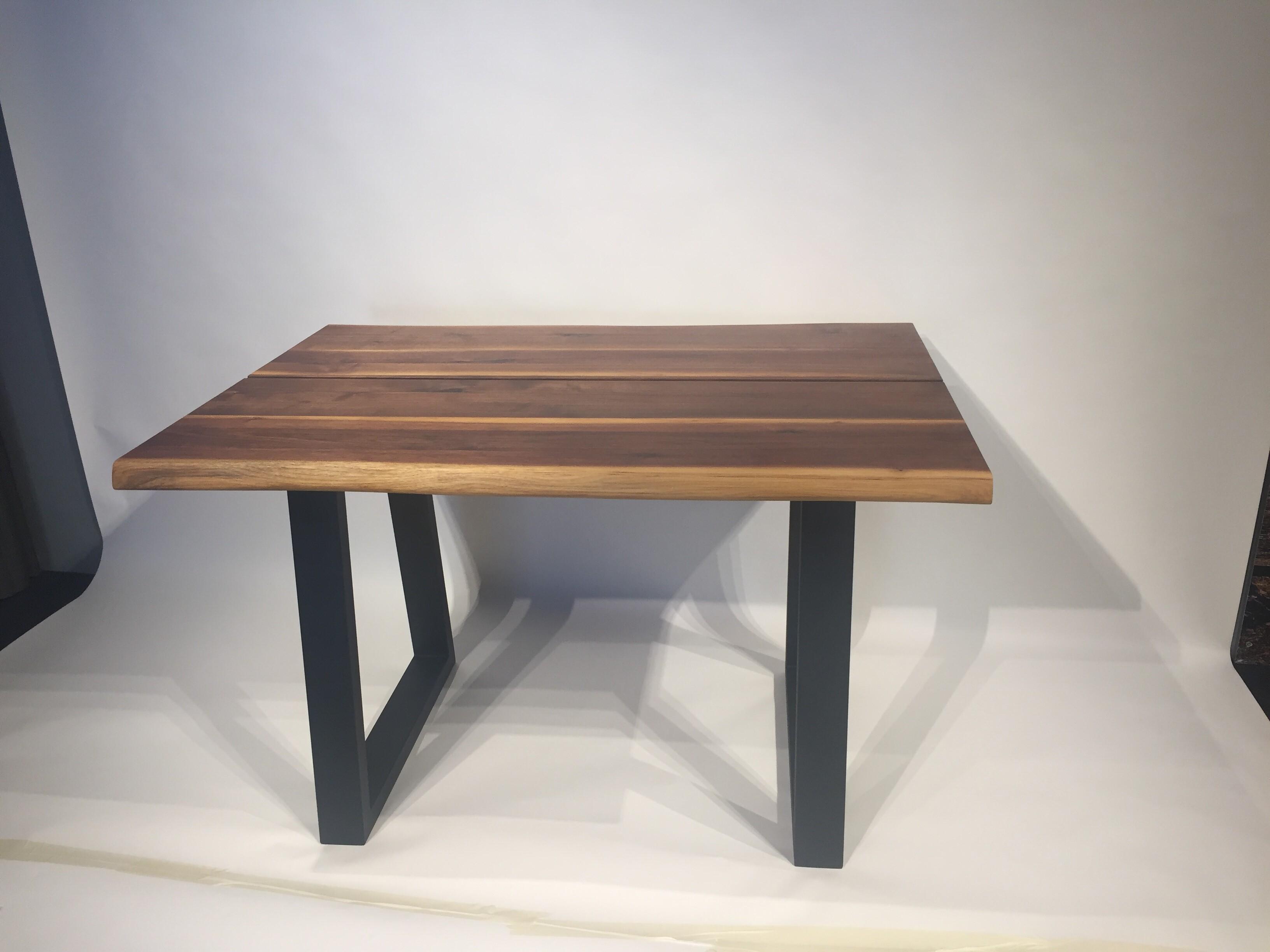 Massivholztisch Küche / Schreibtisch 120 x 80 cm Lüönd 03
