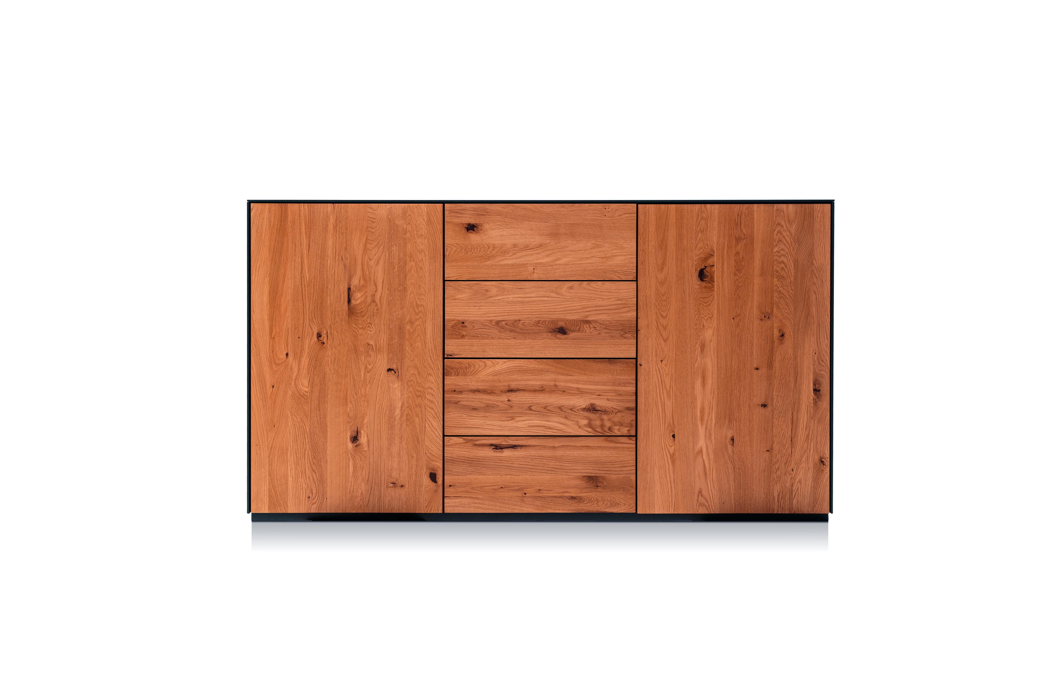 Ohio 03 Sideboard mit 2 Türen und 4 Schubladen 01
