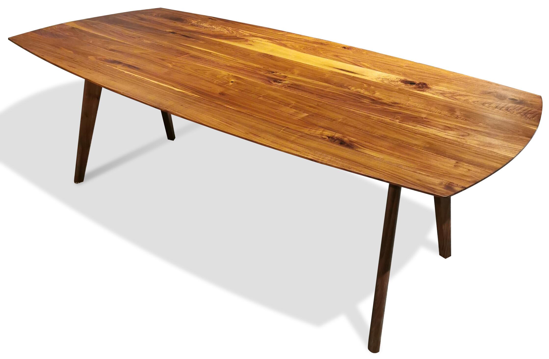 Massivholztisch Style Amerik. Nussbaum 220 x 108 cm Lüönd 04