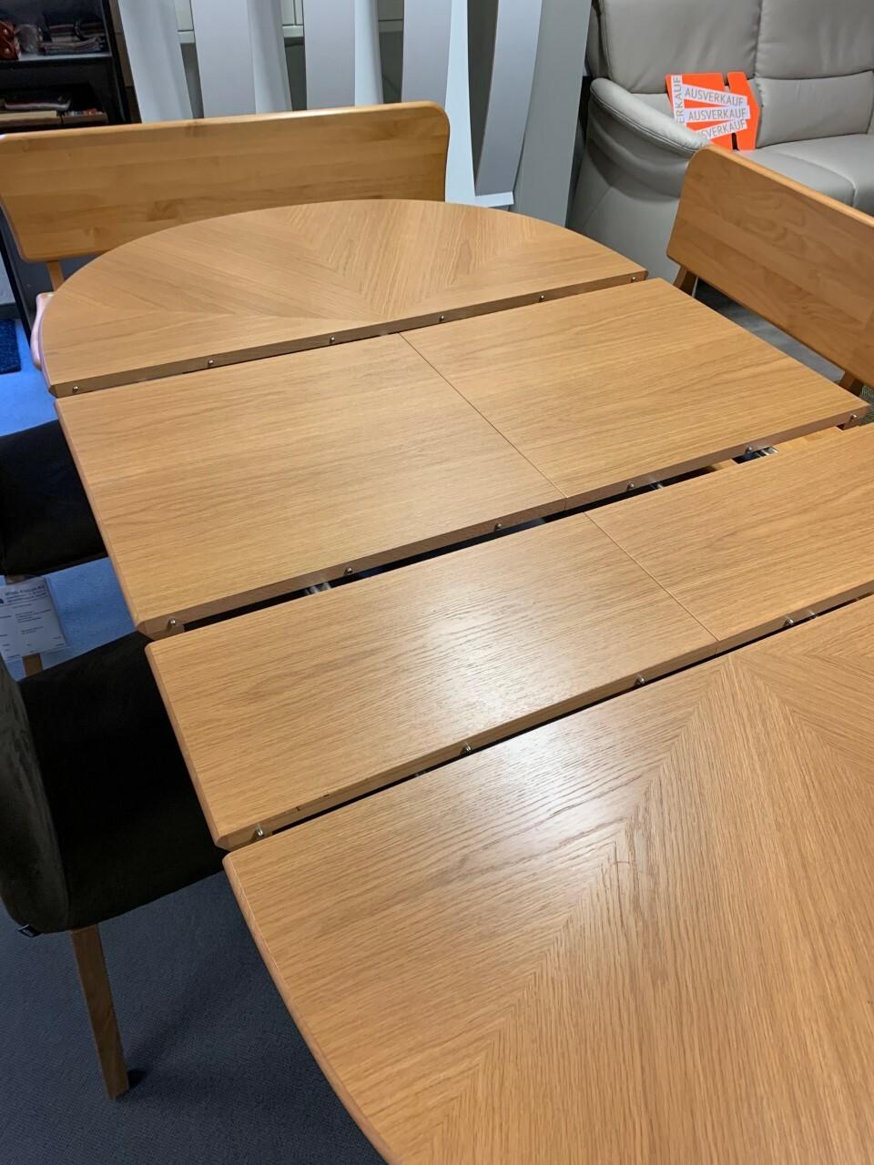 Eckbank und Tisch ausziehbar in Holz (Swiss made) 04