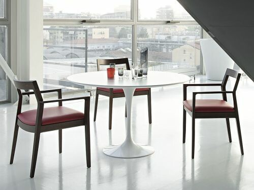 Saarinen Tisch 120cm weiss 01