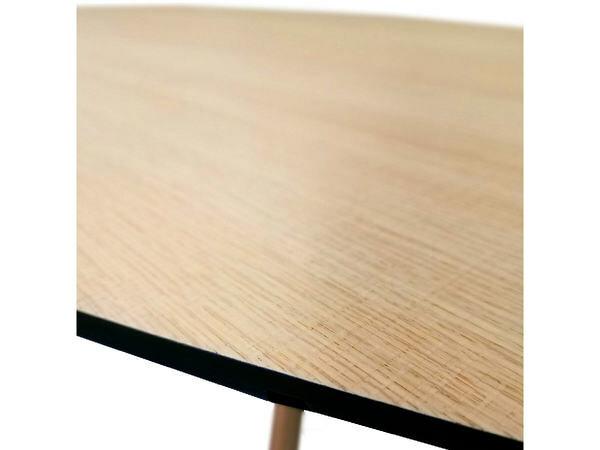 Esstisch ECLIPSE oval in Eiche 100 x 180 cm 05