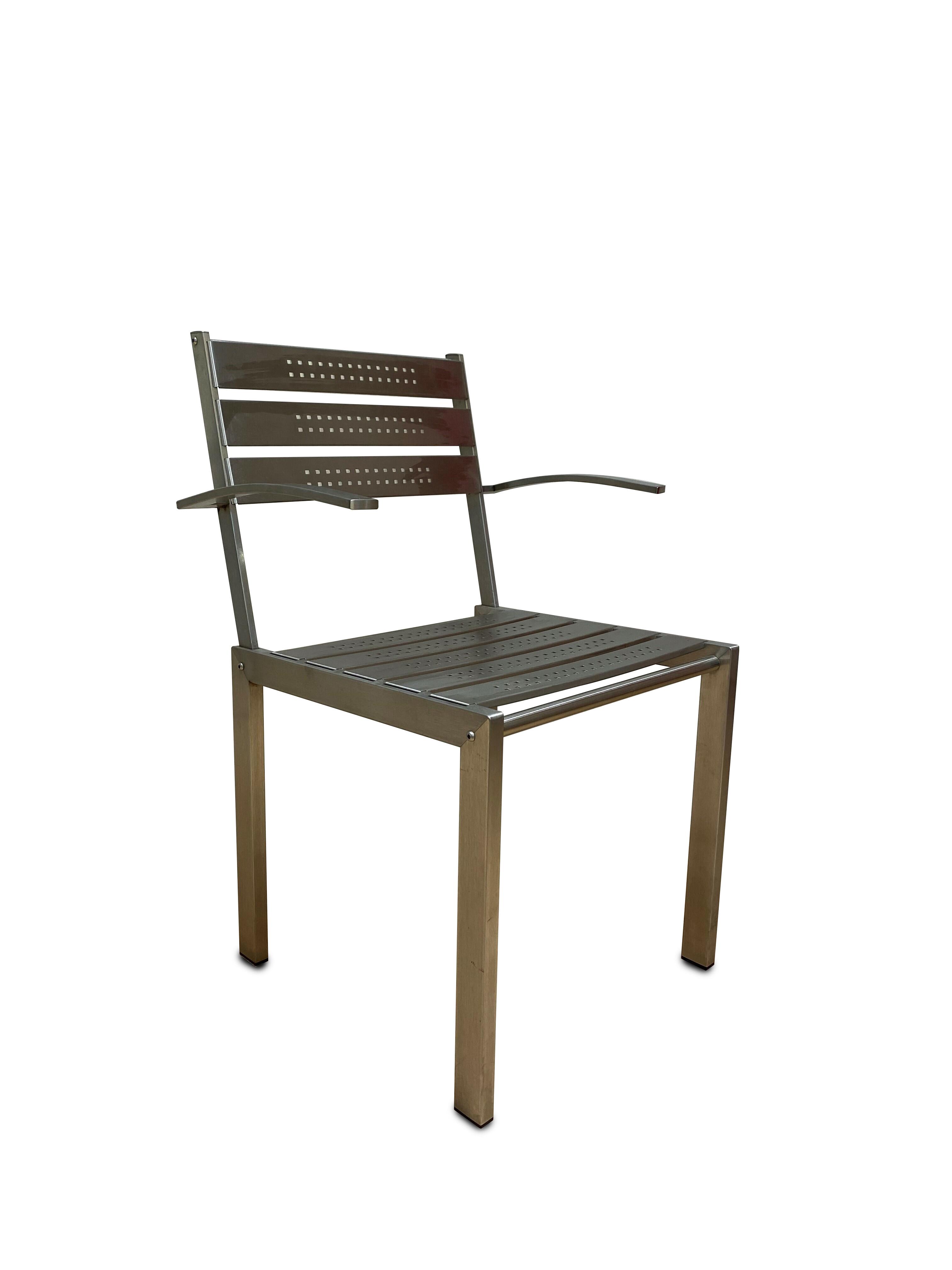 Hutter Armlehnstühle Outdoor Modell SIT 2 Stück 05