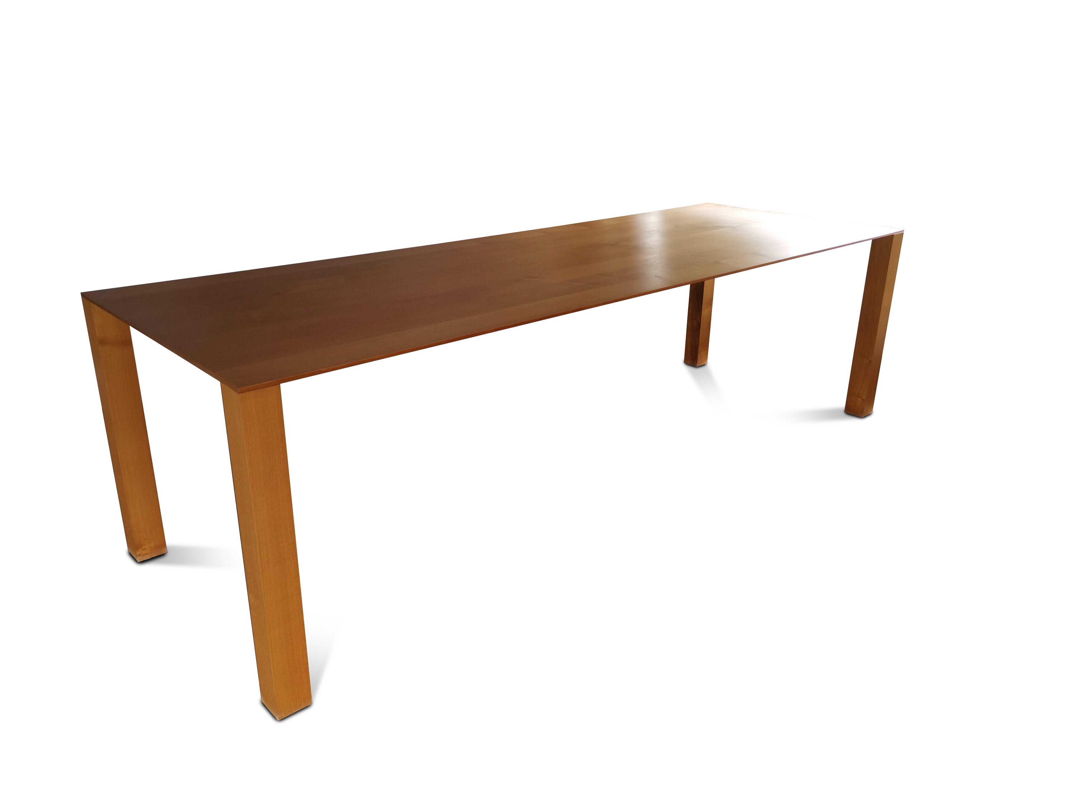 Massivholztisch THIN 260 x 90 cm 04