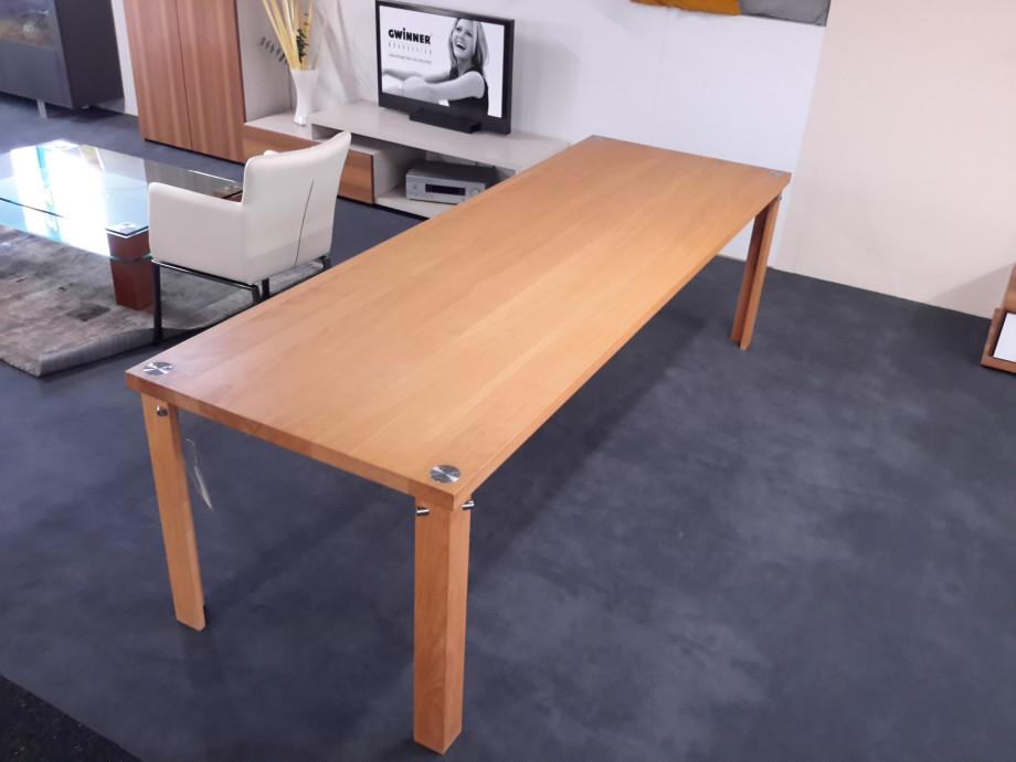 ESSTISCH Buche massiv 85 x 250 cm 03