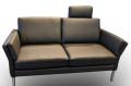 Sofa 2-Platz Addison in Leder von Leuswiss