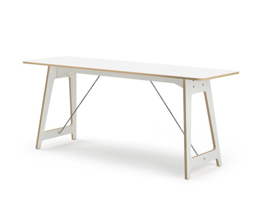 Vifian'Desk, meeting107, Tischblatt & Untergestell Sperrholz KH belegt 02