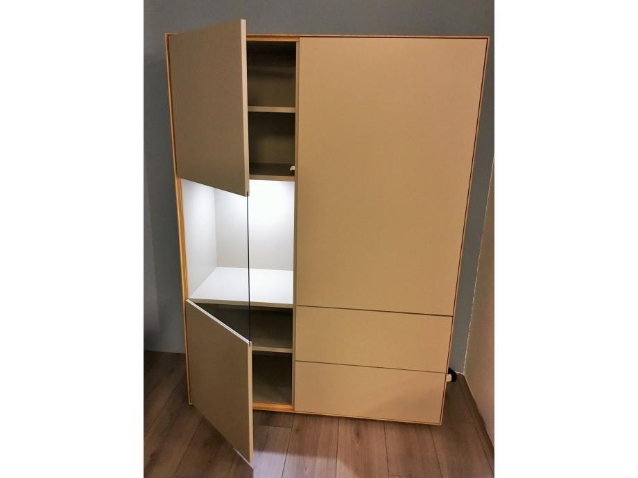Schöner Wohnen Patchwork Sideboard grau/Palazzo 02