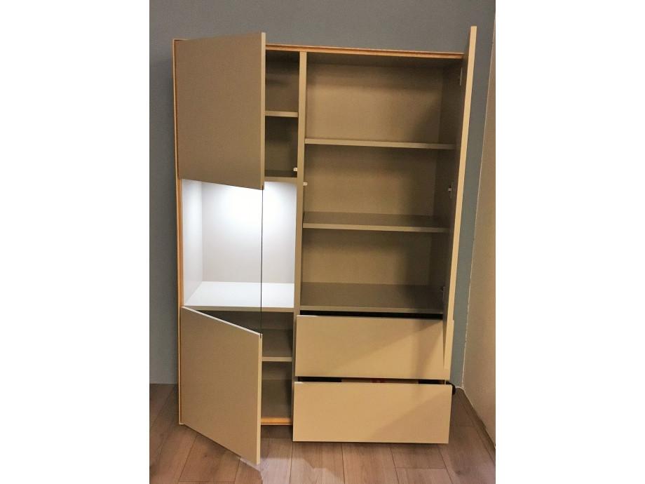 Schöner Wohnen Patchwork Sideboard grau/Palazzo 04