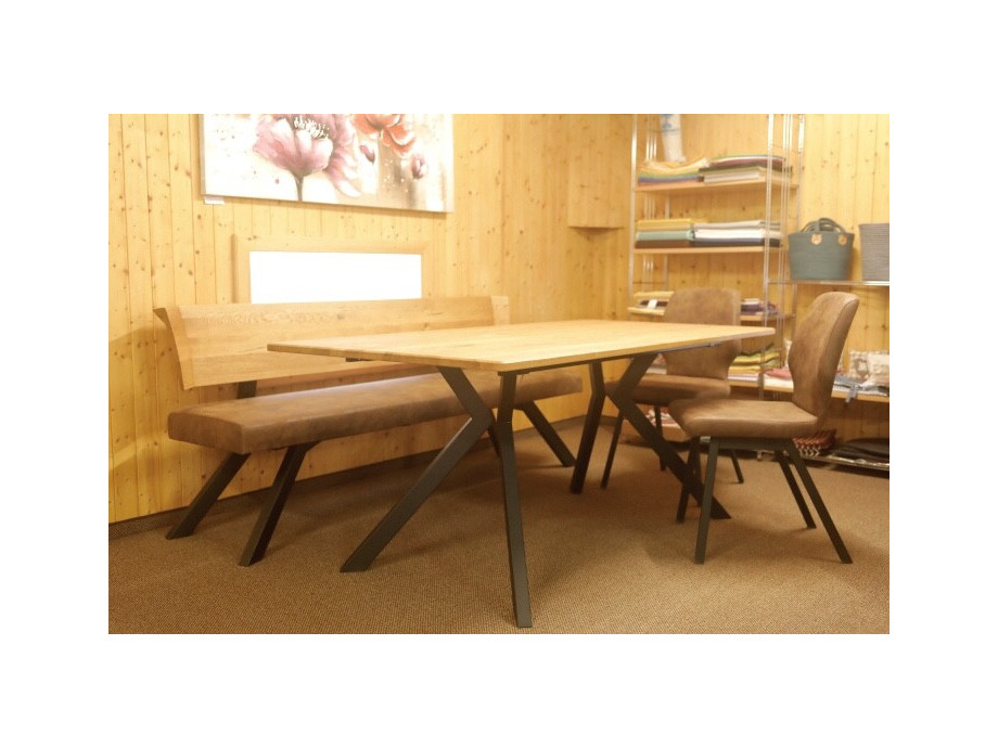 Tisch mit 2 Stühle und Sitzbank Schösswender Modell 300/921 02