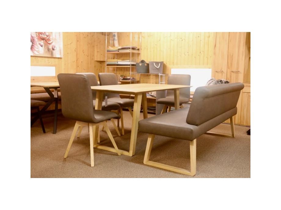 Tisch mit 4 Stühle und Sitzbank Schösswender Modell Malibù 01