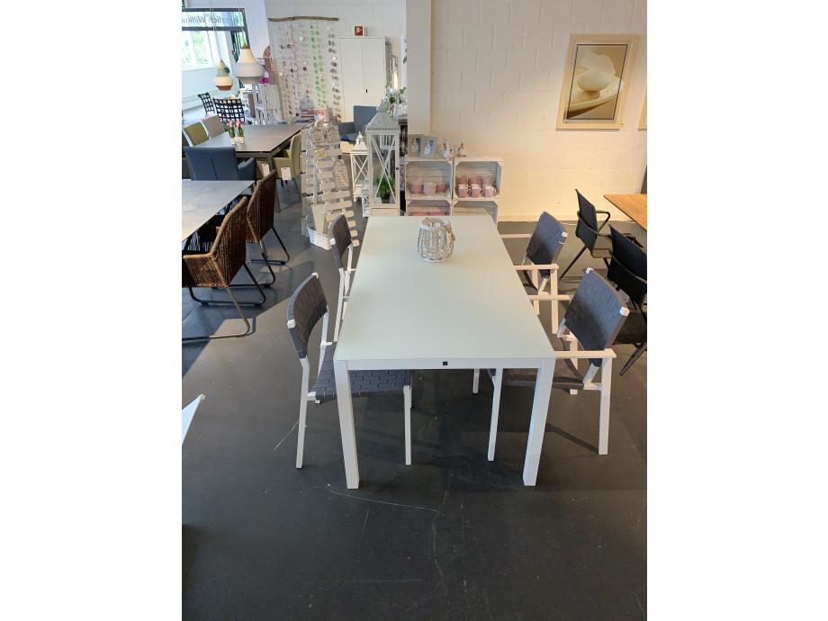 Gartentisch/Stuhl Set 02