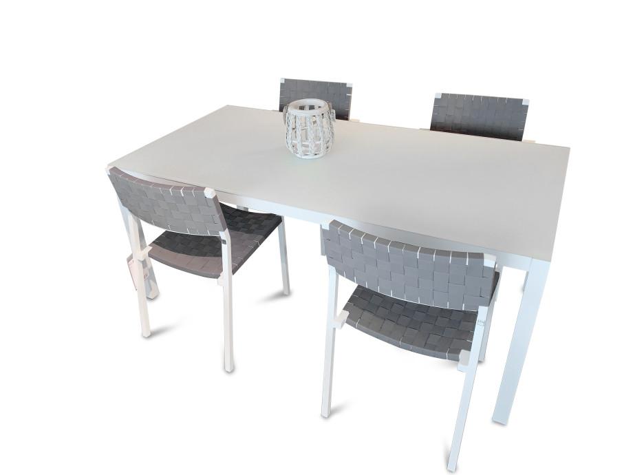 Gartentisch/Stuhl Set 03