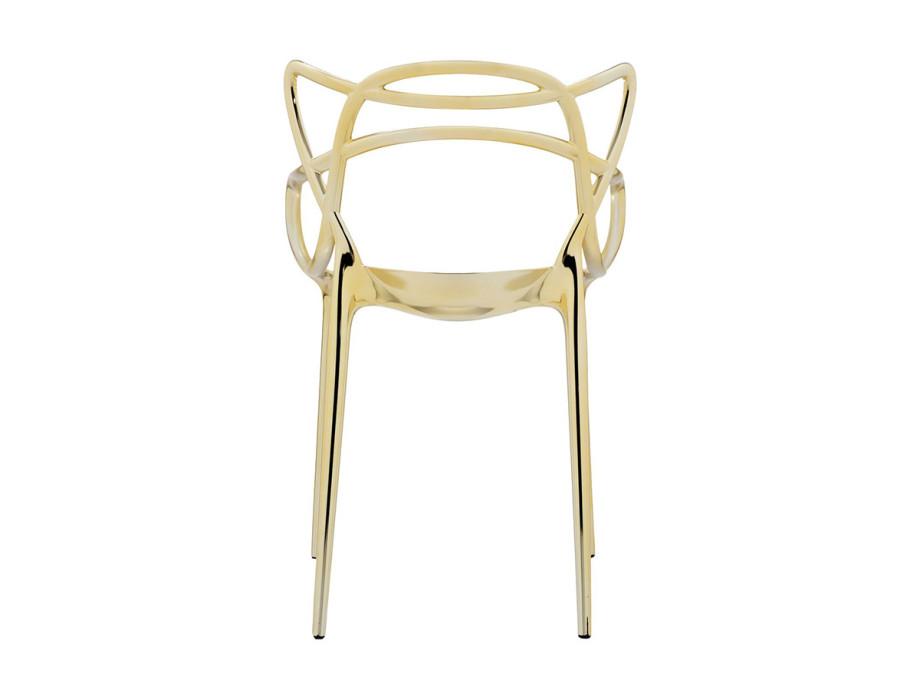 Chaise métallisée Masters de Kartell 03