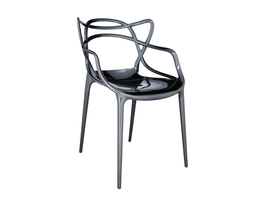 Chaise métallisée Masters de Kartell 13