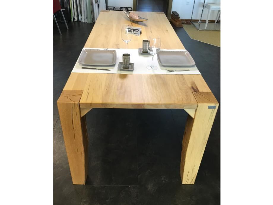 Tisch Largo Sumpfeiche geschroppt 05