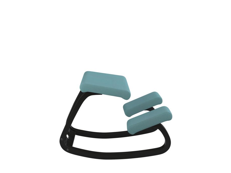 Variable balans Bewegungsstuhl, Esche schwarz 07
