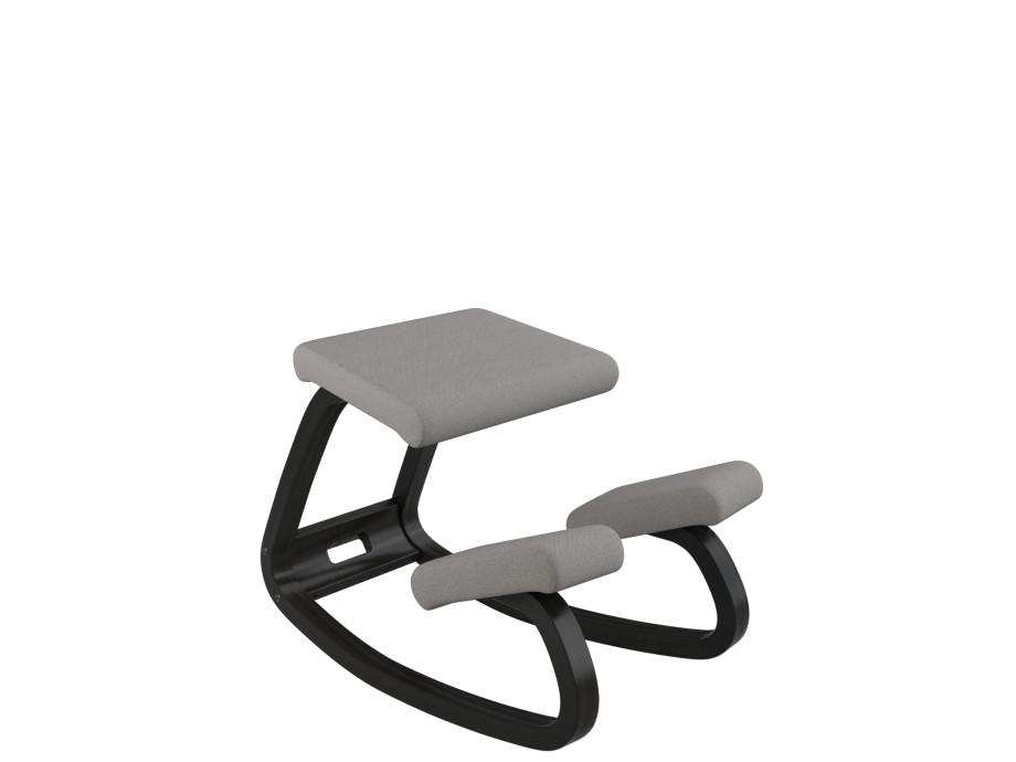 Variable balans Bewegungsstuhl, Esche schwarz 09